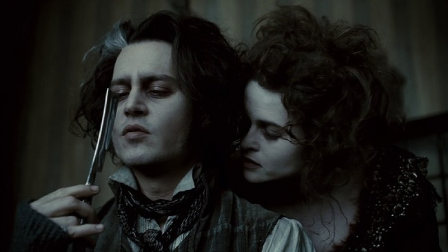 Sweeney Todd, Johnny Depp