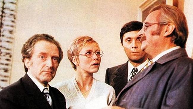 Jiří Hálek, Jaroslava Obermaierová, Josef Abrhám a Jiří Sovák