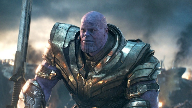 Josh Brolin ako Thanos vo filme Avengers: Endgame