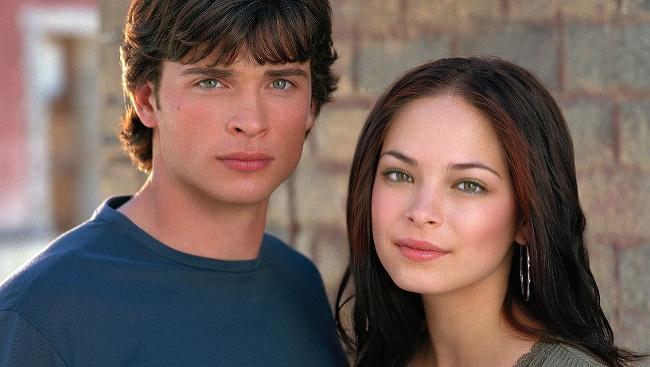 Kristin Kreuk a Tom Welling v seriáli Smallville