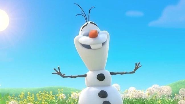 Ľadové kráľovstvo, Olaf
