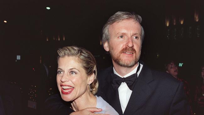 Linda Hamiltonová a James