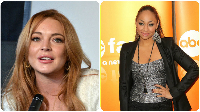 Lindsay Lohan, Raven Symone