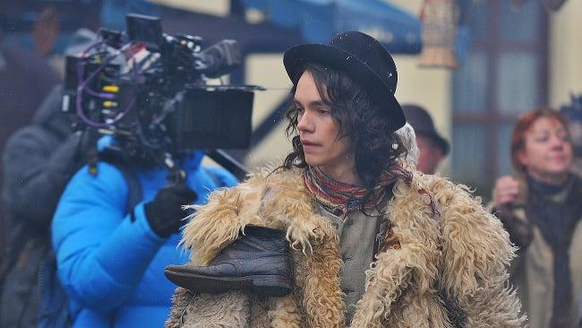 Na snímke herec Lukáš