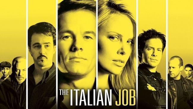 Lúpež po taliansky, The Italian Job