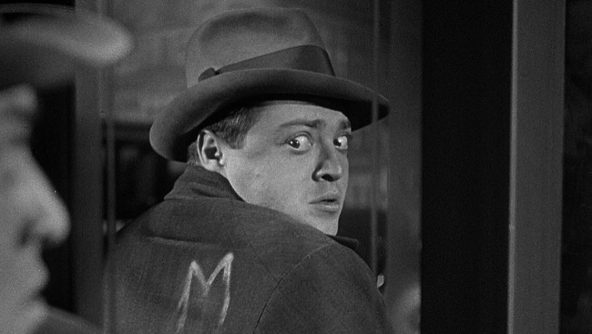 Hans Beckert (Peter Lorre) vo filme M