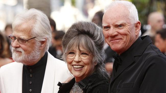 McDowell so Stanleym Kubrickom a jeho manželkou