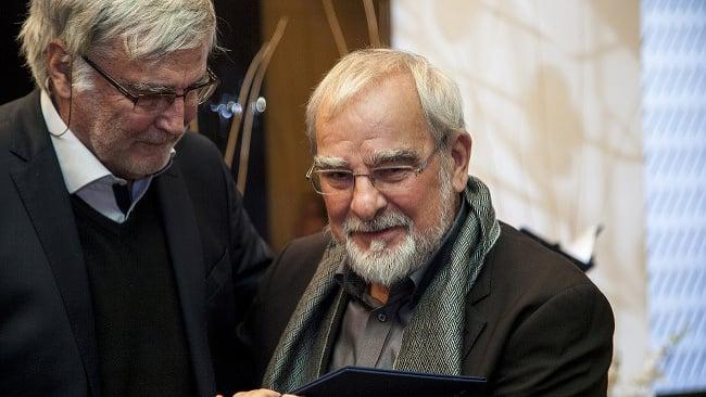 Marián Slovák (vpravo)