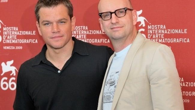 Steven Soderbergh a Matt Damon