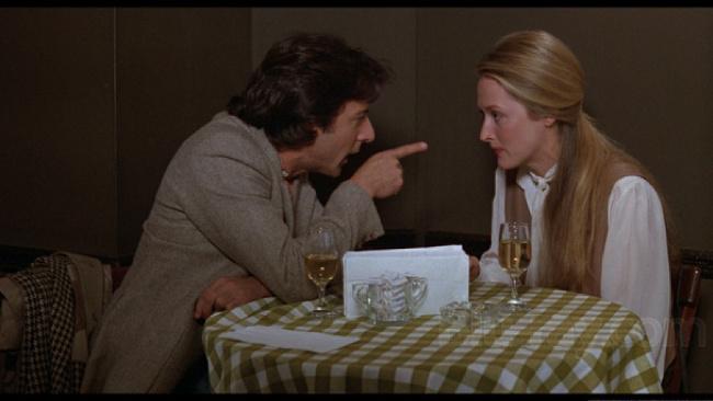 Dustin Hoffman a Meryl