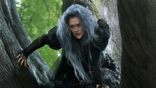Meryl Streepová vo filme Príbehy z lesov