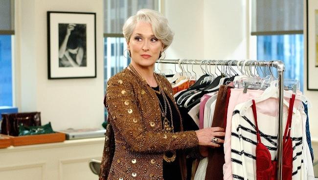 Meryl Streepová vo filme Diabol nosí Pradu