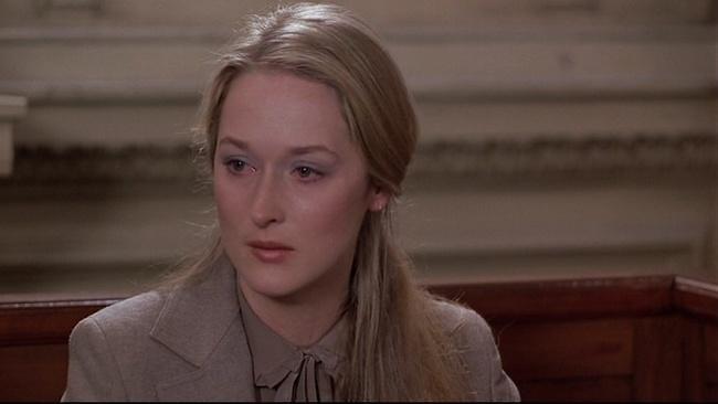Meryl Streepová vo filme Kramerová verzus Kramer