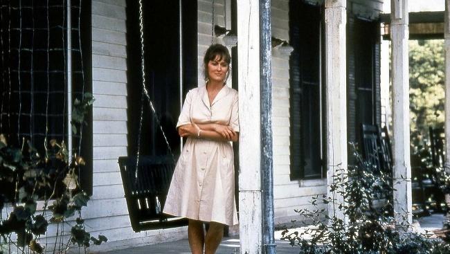 Meryl Streepová vo filme Madisonské mosty