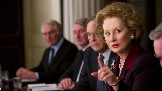 Meryl Streepová vo filme Železná Lady