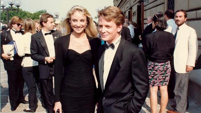 Michael J. Fox a Tracy Pollanová