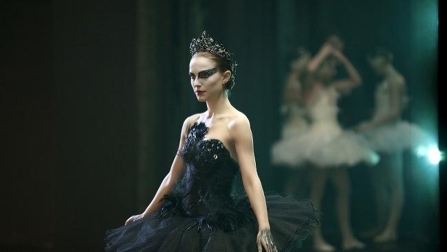 Natalie Portmanová v Čiernej Labuti