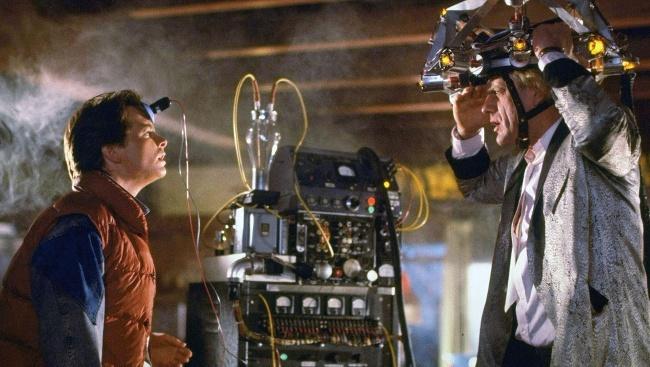 Marty McFly vo filme Návrat do budúcnosti