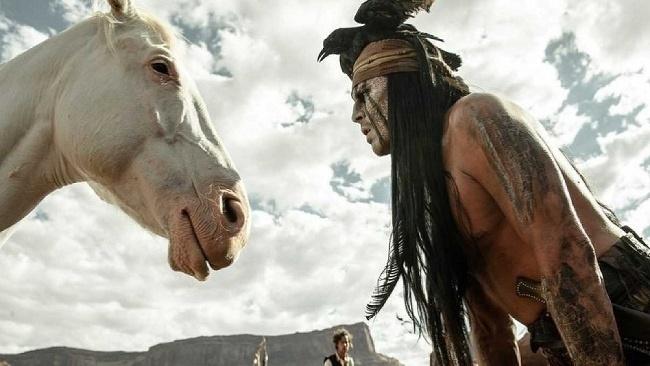 Osamelý jazdec, Johny Depp