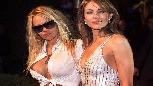 Liz Hurley, Pamela Anderson