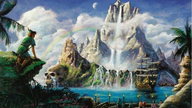 Neverland, Peter Pan