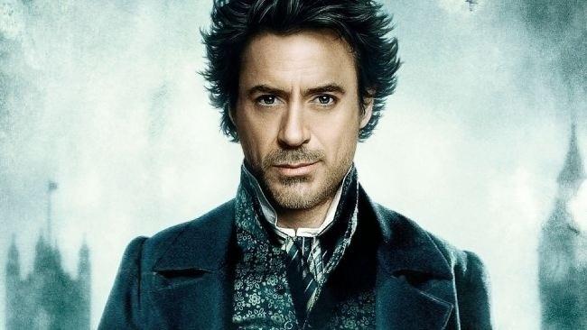 Robert Downey Jr. ako Sherlock Holmes