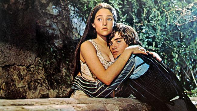 Z filmu Rómeo a Júlia