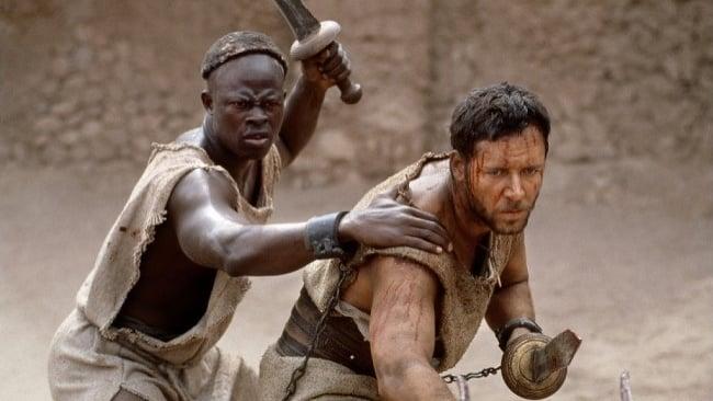 gladiator zivot pred sebou