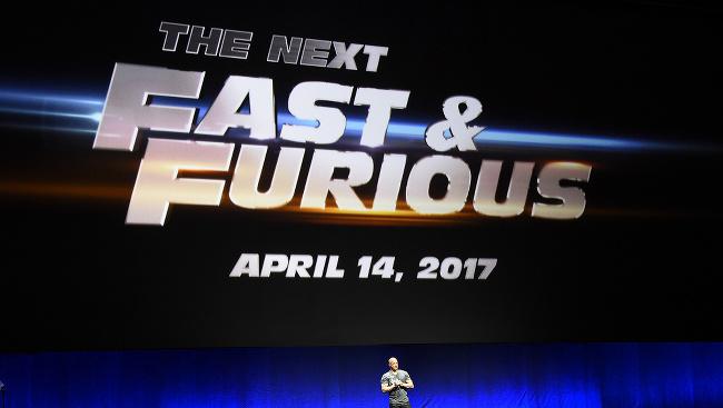 Rýchlo a zbesilo 7: Vin Diesel