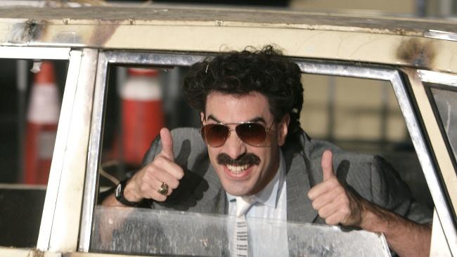 Sacha Baron Cohen stvárnil množstvo slávnych filmových postáv