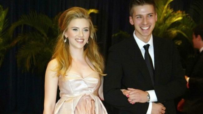 Scarlett Johansson a Hunter Johansson