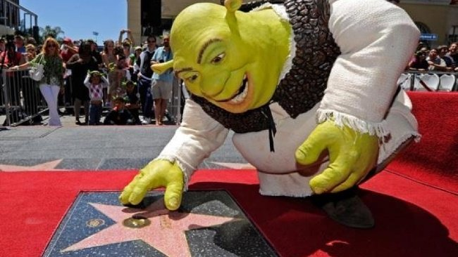 Shrek, Hollywoodsky chodník slávy
