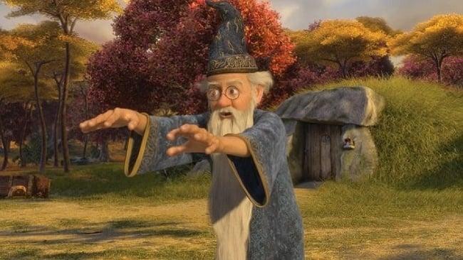 Shrek, Merlin