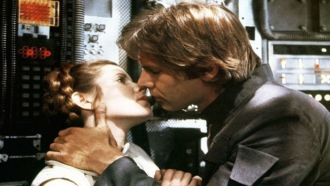 Harrison Ford, Carrie Fisher,