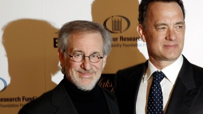 Steven Spielberg a Tom
