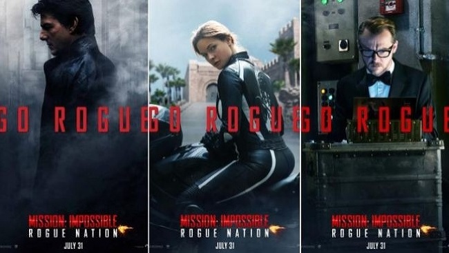 Plagát na Mission: Impossible: Národ grázlov
