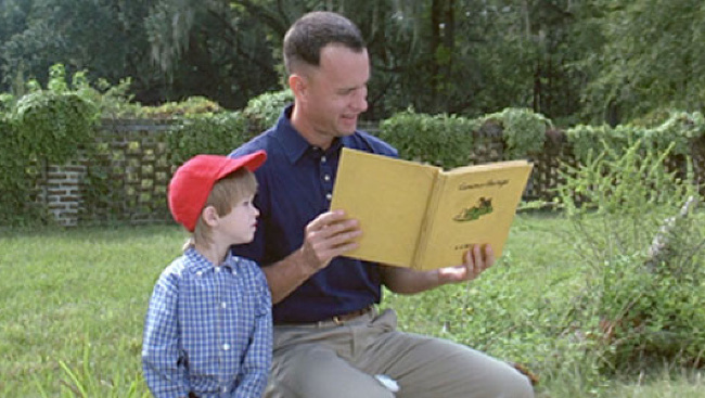 Tom Hanks a Haley