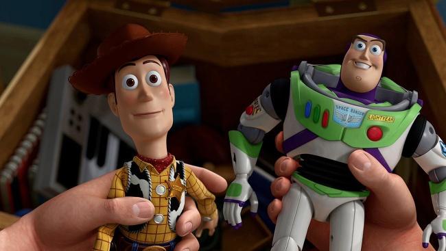 Woody a Buzz z