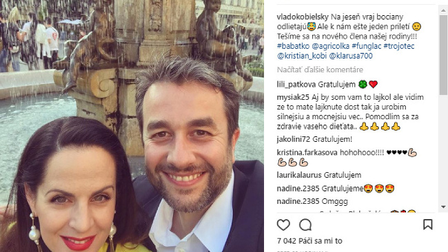 Vladimír Kobielsky oznámil radostnú