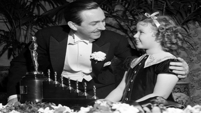 Walt Disney, Shirley Temple