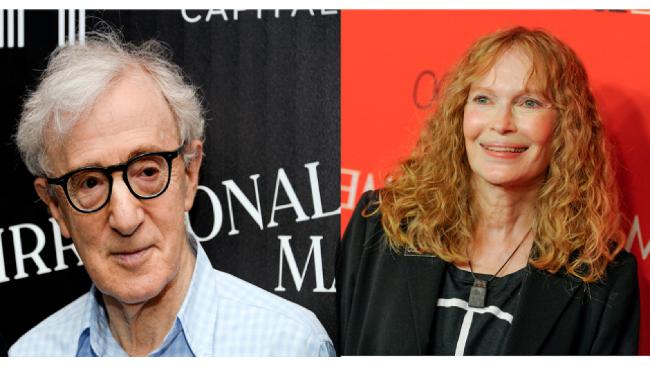 Woody Allen a Mia Farrow